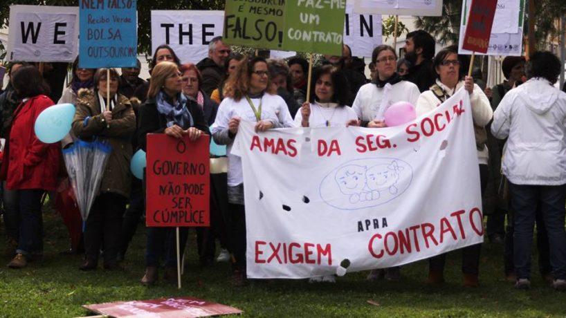 IPSS estão a cortar salários das Amas da Segurança Social